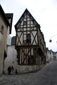 the old town of Chartres
